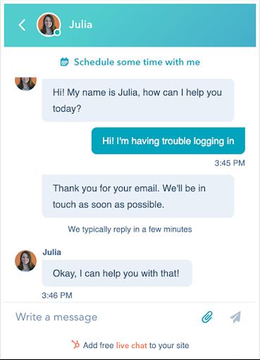 hubspot-chatbot